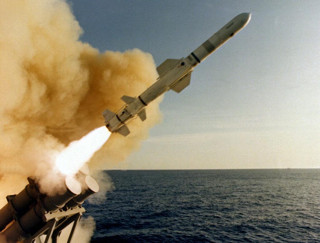 موشک ضد کشتی نیروی دریایی آمریکا