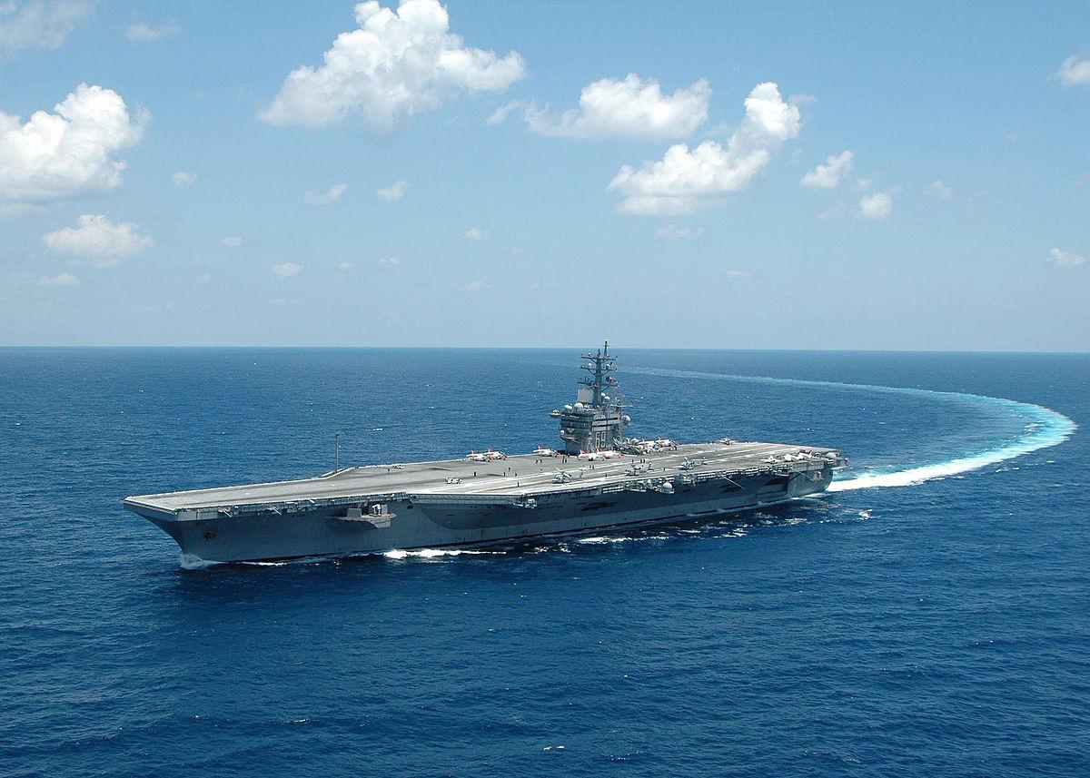 ناو هواپیمابر آیزن هاور USS Dwight D. Eisenhower