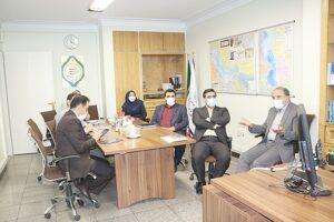 نشست مشترک معاون امور صنایع وزارت صمت با مدیران ارشد صندوق توسعه صنایع دریایی