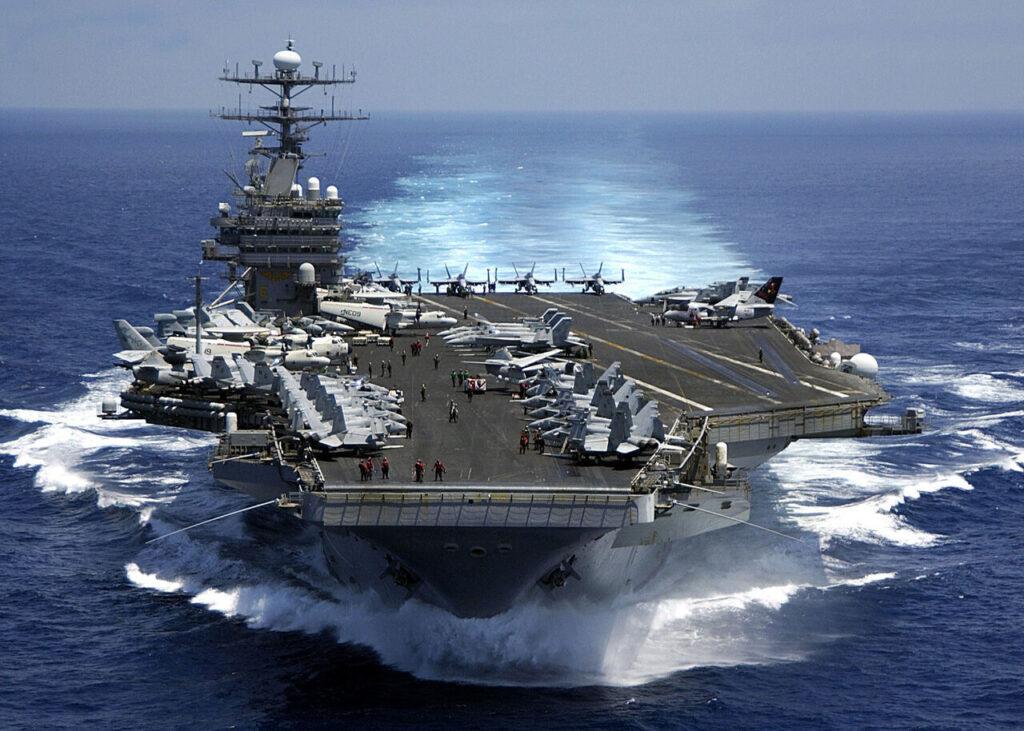 ورود ناوشکن آمریکایی به دریای جنوبی چین