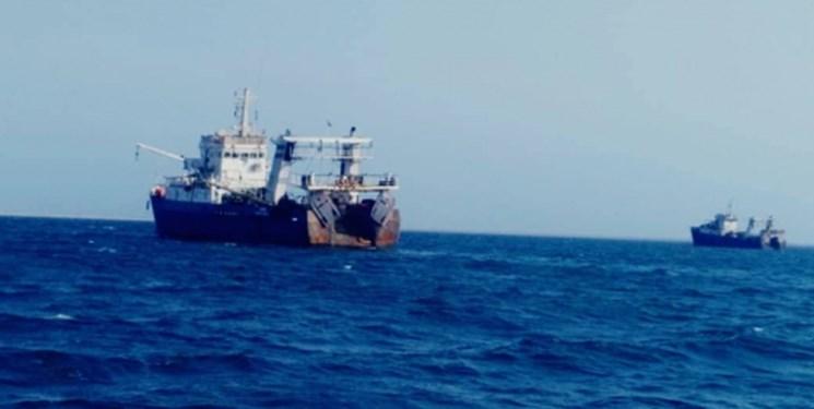 کشتی صید ترال در سیستان و بلوچستان