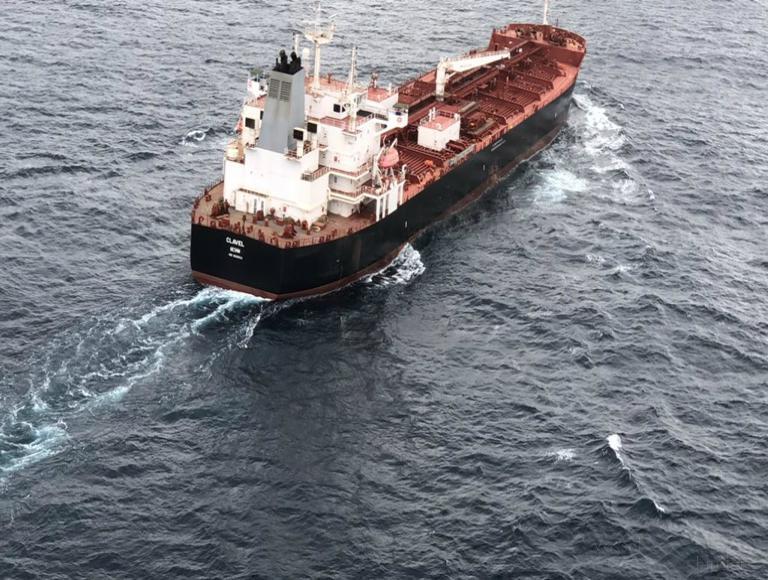 کشتی و نفتکش کلاول - clavel tanker ship