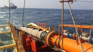 پروژه احداث خط لوله دریایی کیش گرزه
