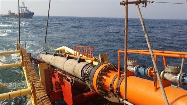 پروژه احداث خط لوله دریایی کیش گرزه آغاز میشود