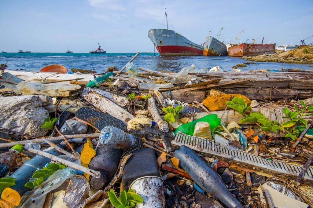 آلودگی پلاستیکی اقیانوس اطلس