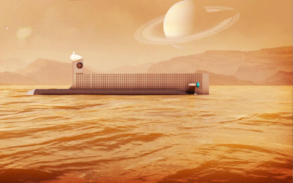 ارسال زیردریایی جهت کاوش در قمر زحل