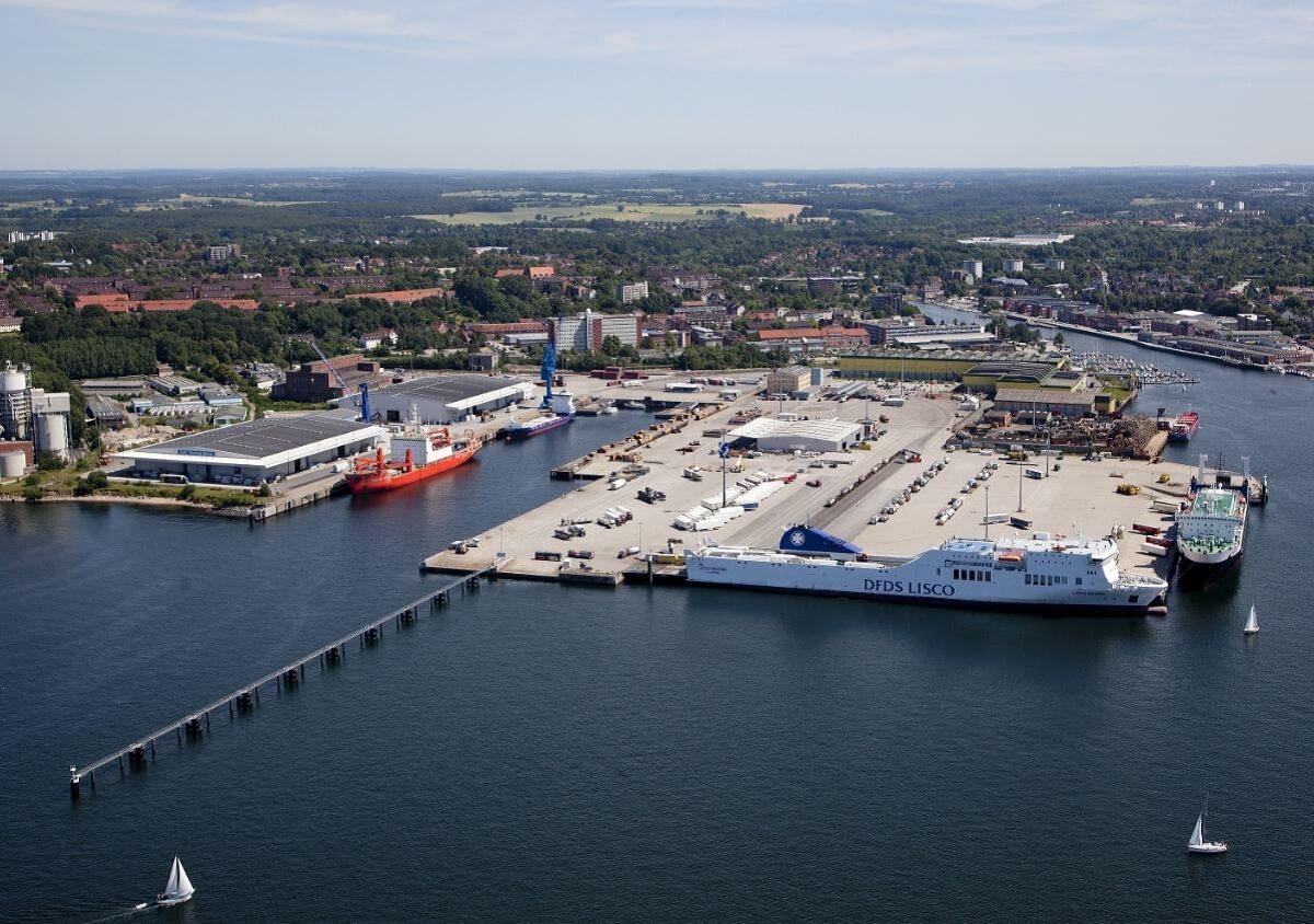 اسکله بندر کیل آلمان- kill port germany