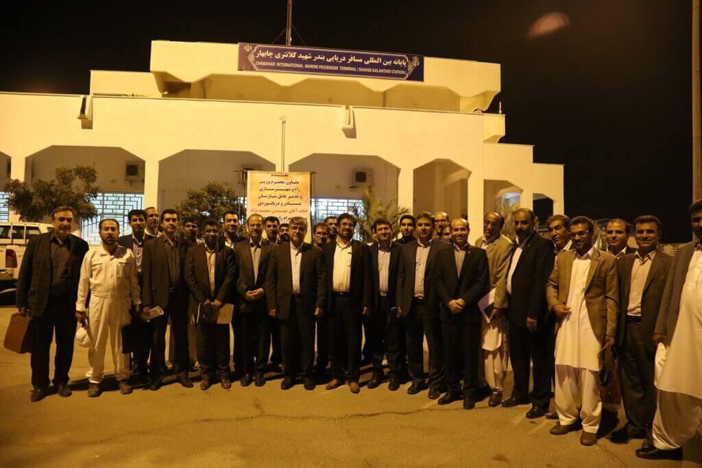 افتتاح پایانه بینالمللی مسافر دریایی بندر شهید کلانتری چابهار