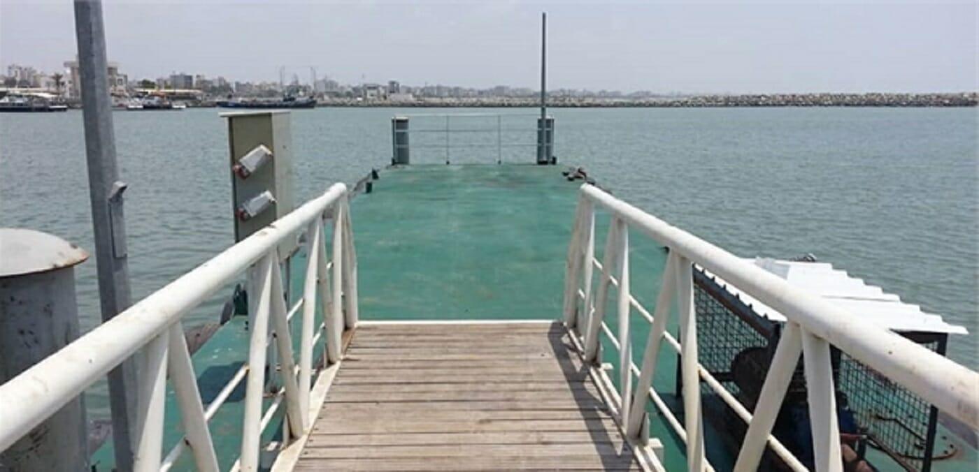 نصب اسکله ویژه پهلوگیری شناورهای تجسس و نجات در بندر شهید حقانی