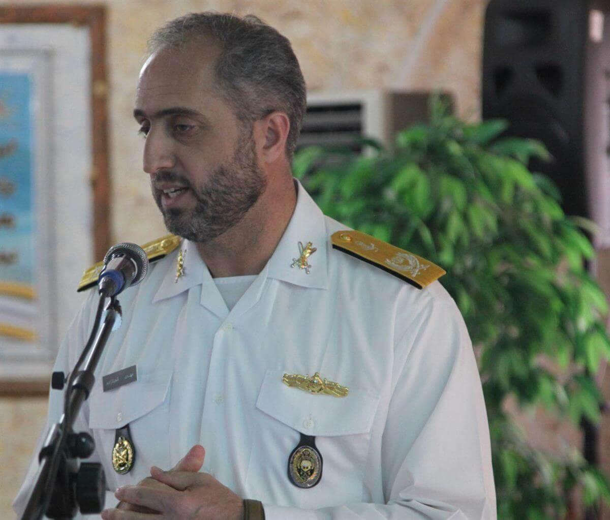 معارفه فرمانده جدید آموزش تخصصهای دریایی باقرالعلوم(ع) رشت