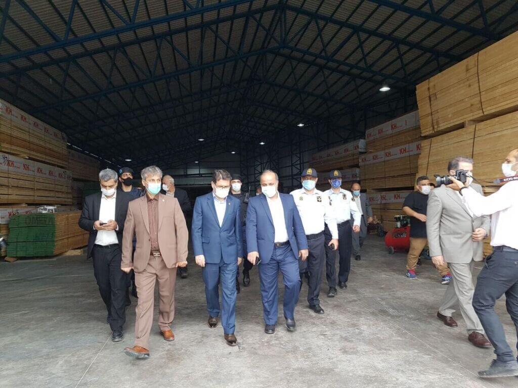 بازدید مدیرعامل سازمان بنادر و دریانوردی از بندر نوشهر