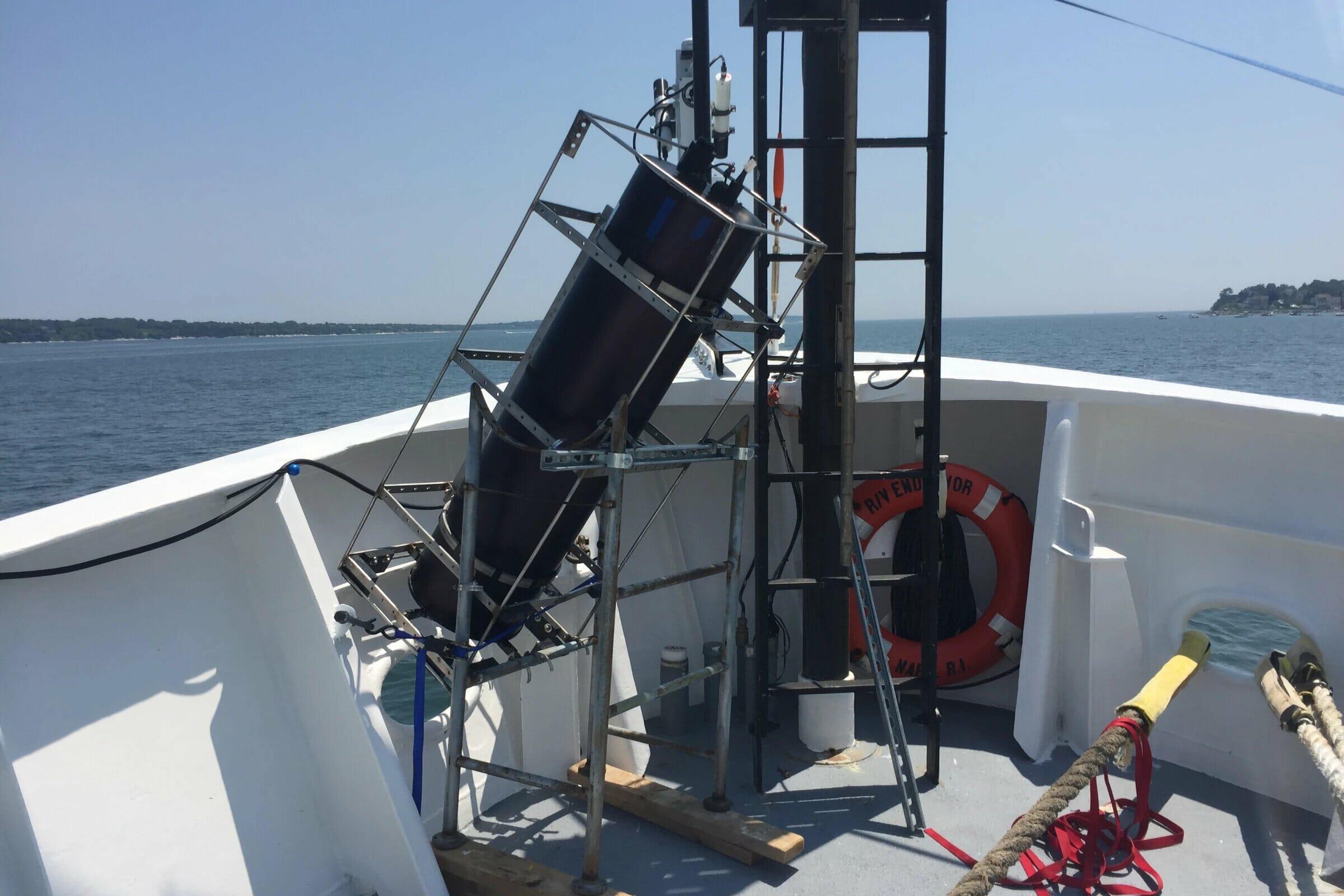 بررسی عمق اقیانوس با کمک فناوری لیدار
