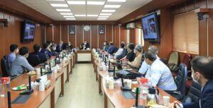 جلسه هماندیشی روسای بازرسی فنی و خوردگی فلزات شرکت نفت فلات قاره