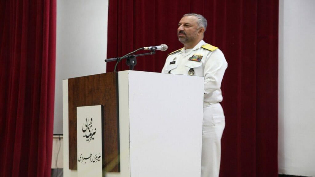 دریادار حمزه علی کاویانی - معاون هماهنگکننده نیروی دریایی ارتش