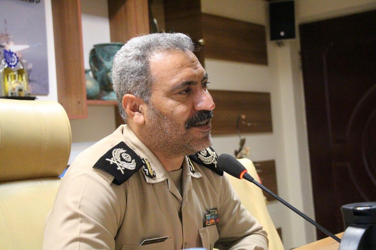 دریادار دوم عبدالوهاب طاهری- فرمانده ناوگان شمال نیروی دریایی