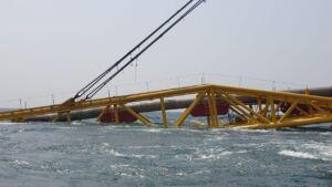 دومین خط لوله صادرات ميعانات گازی سایت دو پارس جنوبی