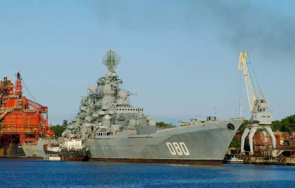 رزمناو سنگین هستهای دریادار ناخیموف ناوگان دریایی روسیه