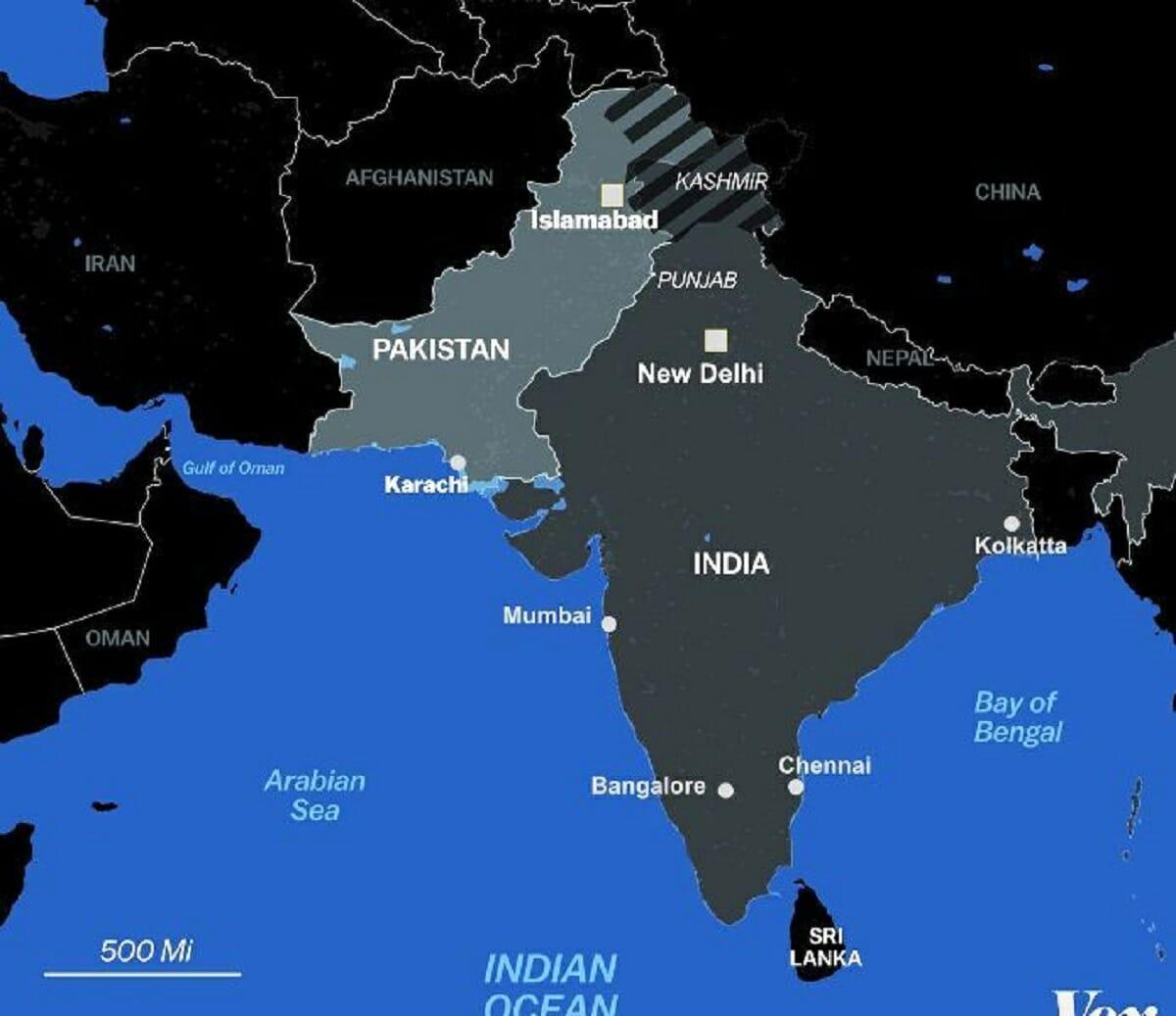 اقیانوس هند؛ صحنه جدید رقابت های تسلیحاتی