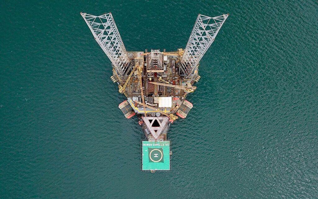 سکوی حفاری نفتی دریایی valaris ju248
