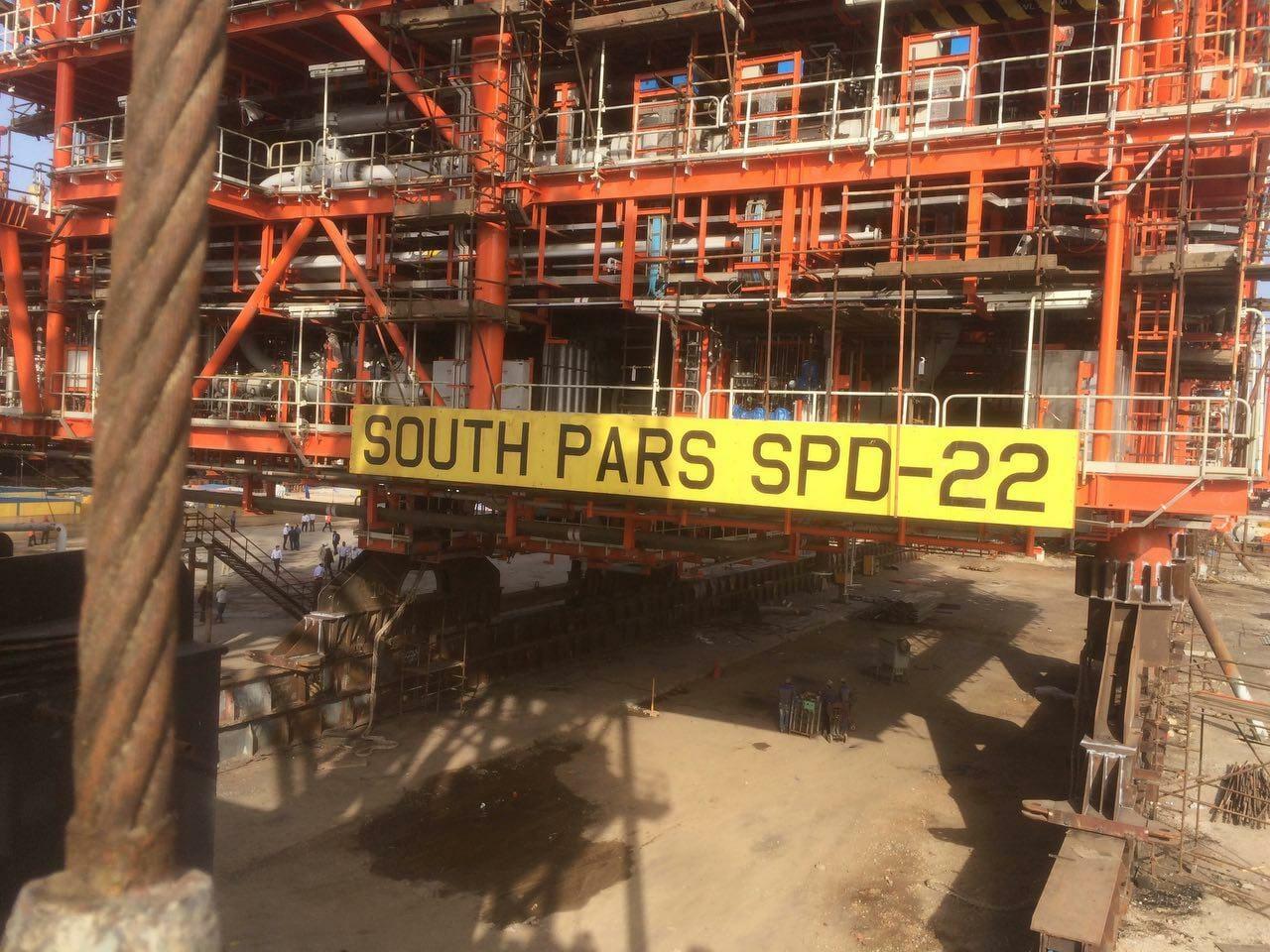 تولید گاز از سکوی فاز ۲۲ پارس جنوبی ۲۰۰ میلیون فوت مکعب افزایش یافت