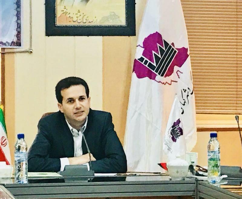 سید امیر امیری زاد مدیرعامل شرکت شهرکهای صنعتی هرمزگان