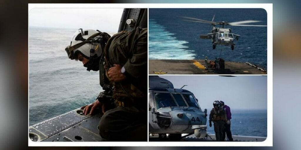 عملیات جستجوی تفنگداران دریایی آمریکایی