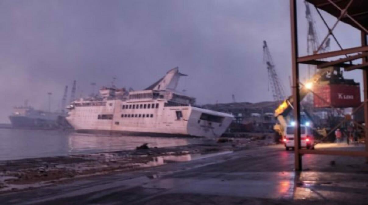 کشتی کروز «اورینت کوین» غرق شد