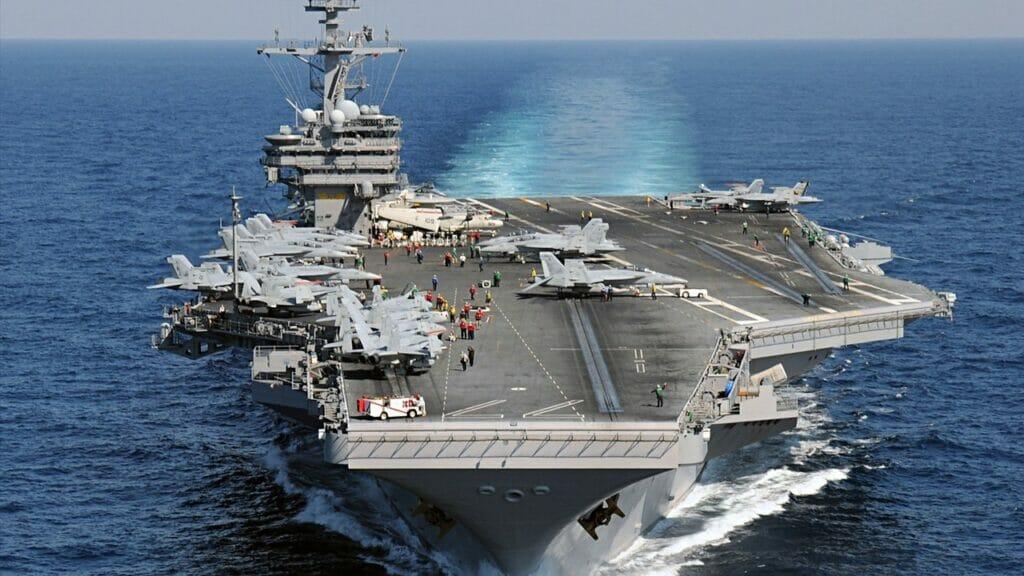ناو هواپیمابر جرج بوش - USS George H.W.Bush