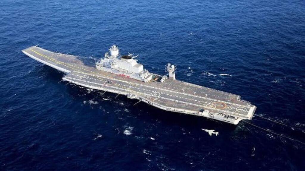 ناو هواپیمابر ویکرامادیتیا نیروی دریایی هند - INS Vikramaditya