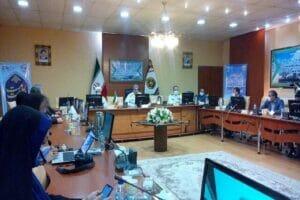 نشست خبری فرمانده مرکز آموزش تخصصهای دریایی باقرالعلوم(ع) نداجا رشت