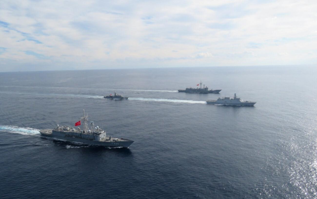ناوهای نیروی دریایی ترکیه