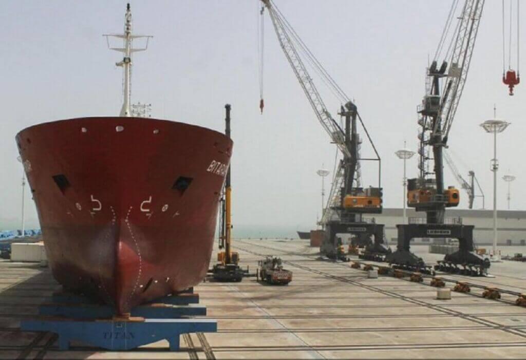 همکاری روسیه و ترکمنستان در زمینه کشتیسازی در دریای کاسپین