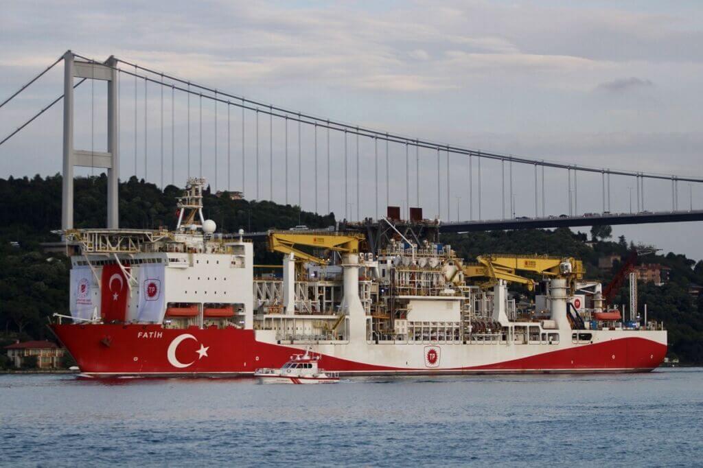 کشتی اکتشاف نفت و گاز دریایی فاتح (fatih) ترکیه