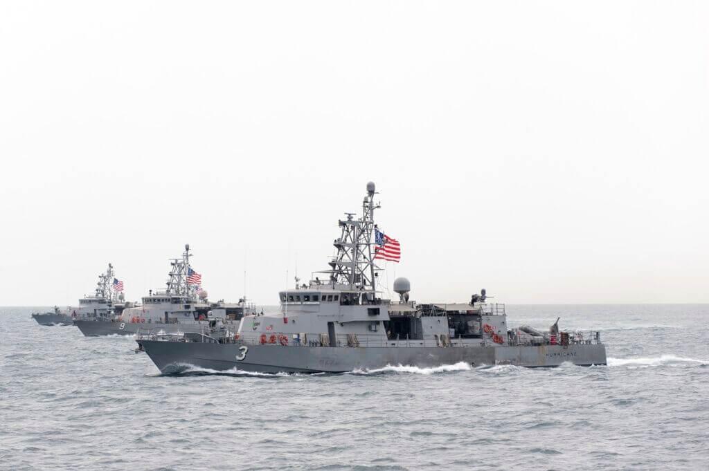 کشتی جنگی و ناو کلاس سایکلون نیروی دریایی آمریکا - Cyclone-class patrol ship