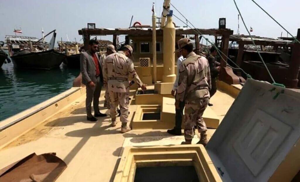 کشف محموله قاچاق شناور در خلیج فارس