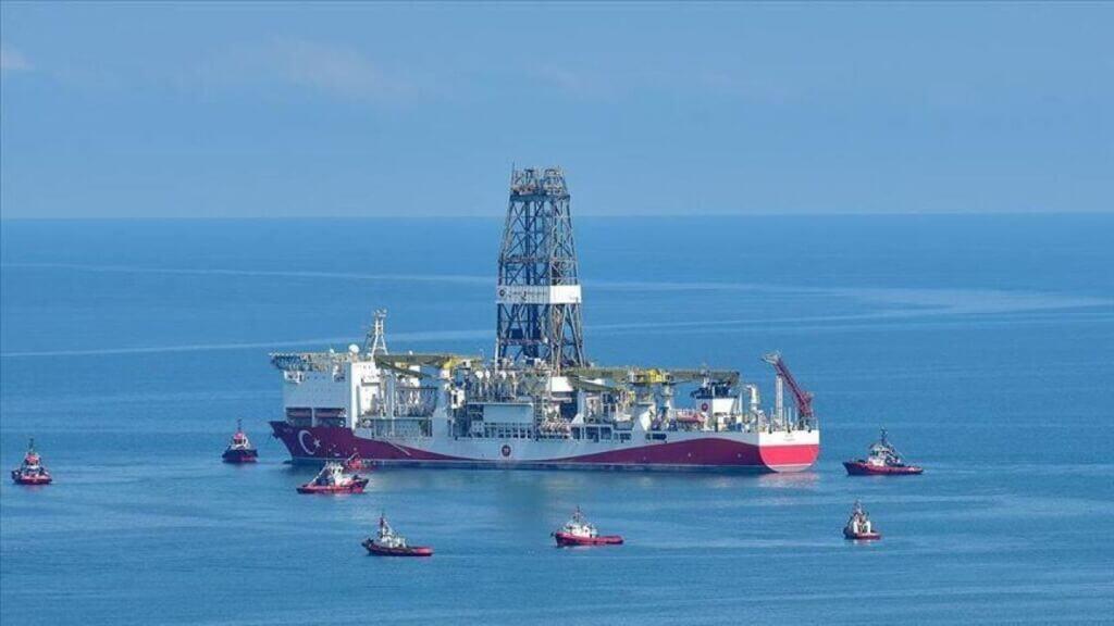 کشف میدان گازی در دریای سیاه توسط کشتی تحقیقاتی ترکیه