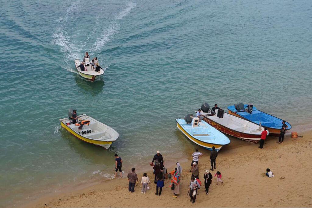 گردشگری دریایی و ساحلی در بوشهر