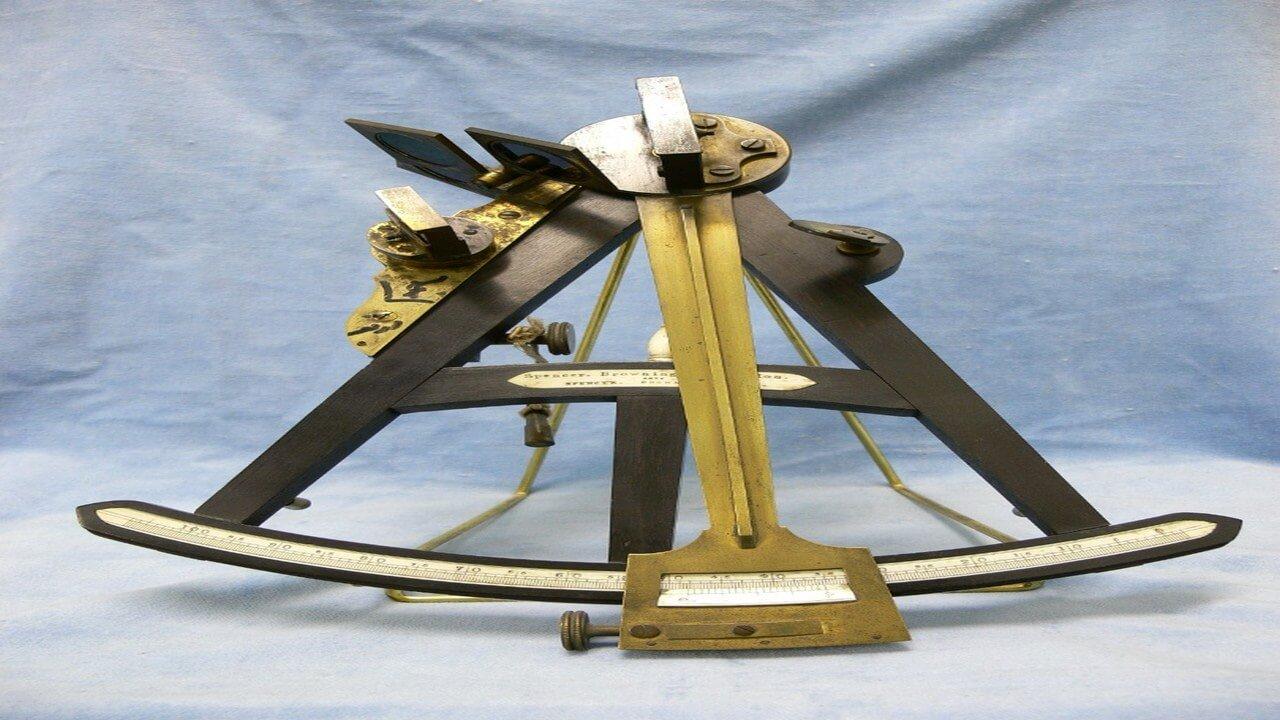 ابزار نجومی دریانوردی درموزه آستان قدس رضوی