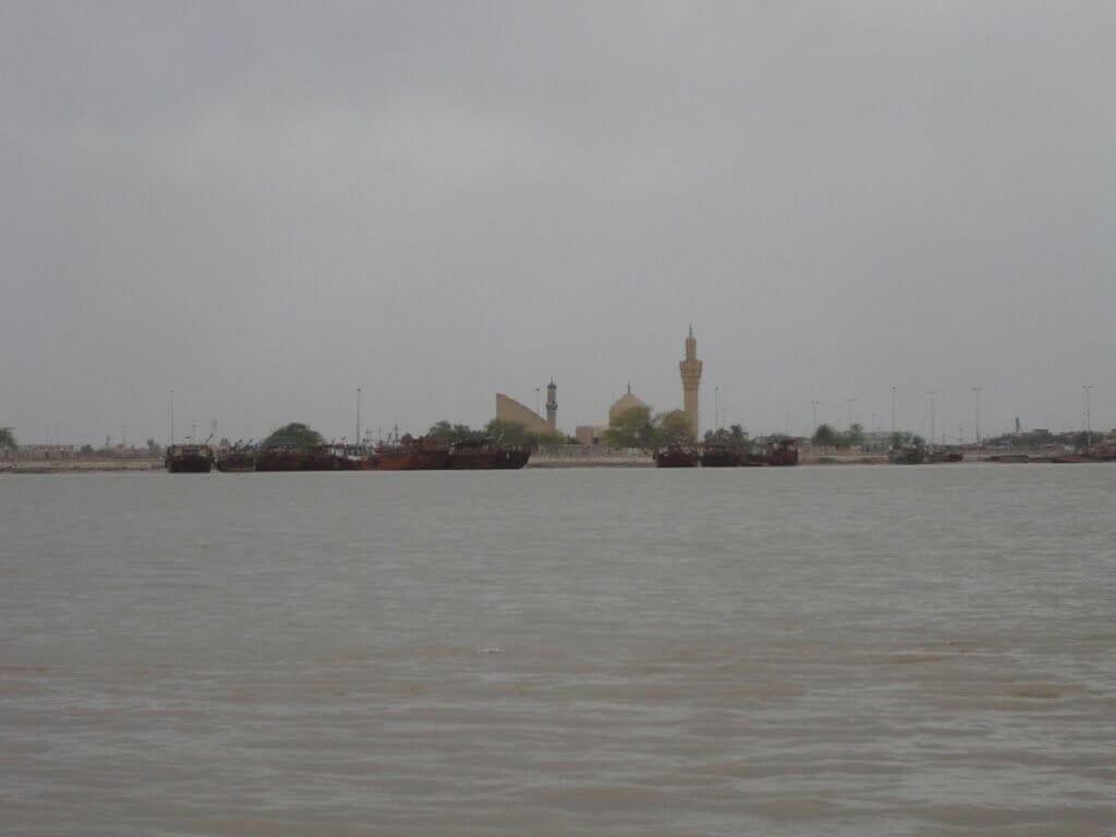 اروندرود مرز دریایی ایران و عراق