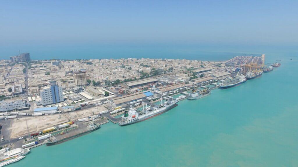 اسکله تجاری بندر بوشهر