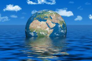 افزایش تراز آب اقیانوسها و دیاها و تغییرات اقلیمی آب و هوا