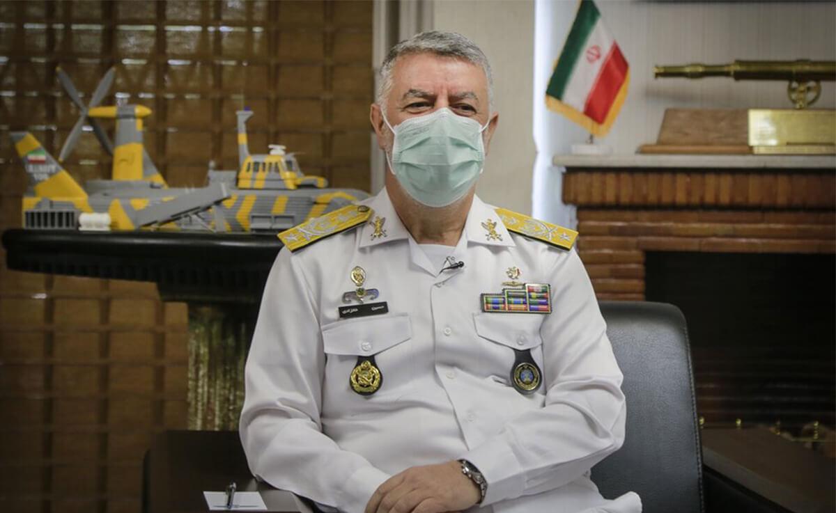 گفتوگو با فرمانده نیروی دریایی ارتش
