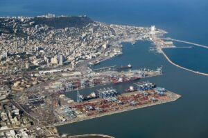 بندر حیفا اسرائیل - haifa port