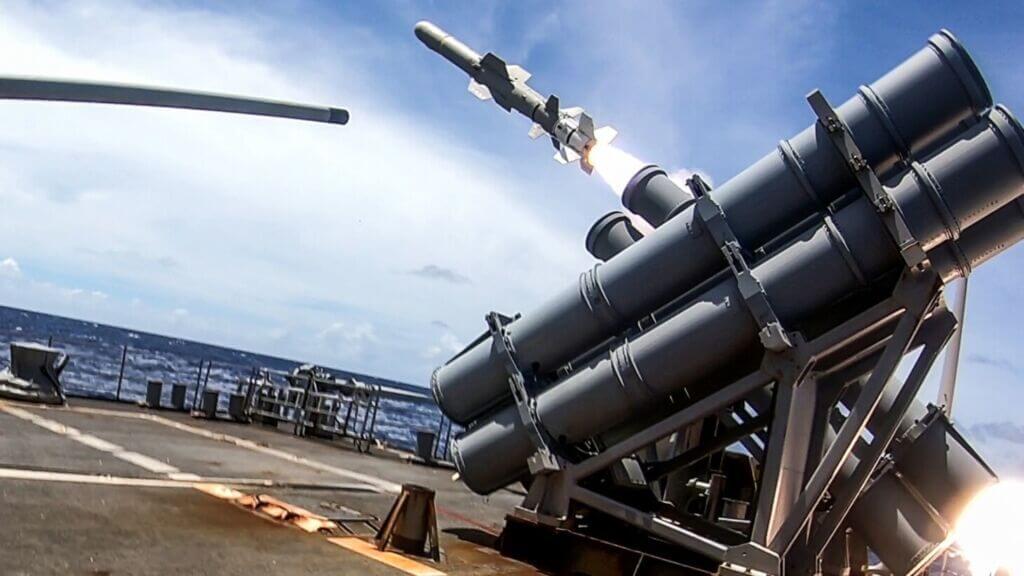 تجهیزات موشکی ناو موشکانداز یواساس انتیتام (سیجی-۵۴)
