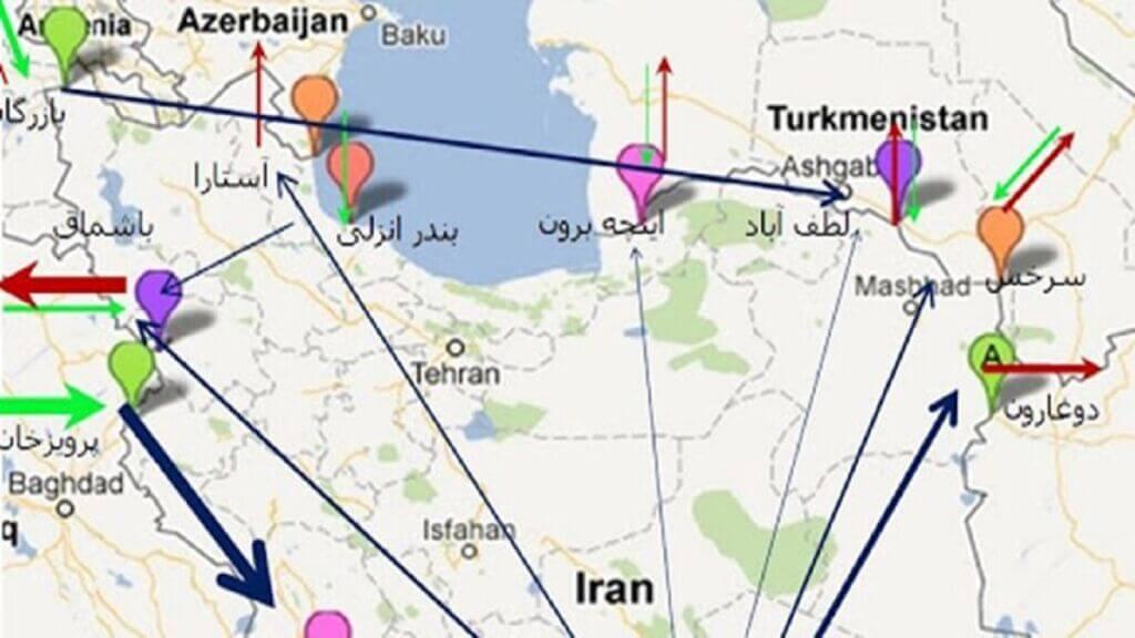 تلاش ارمنستان و آذربایجان برای جابهجایی کریدور ترانزیتی دریای کاسپین