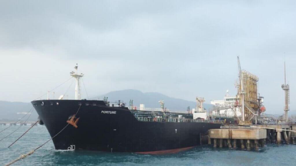 توقیف نفتکشهای ارسالی ایران به ونزوئلا توسط آمریکا