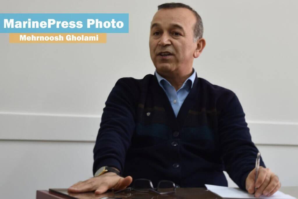 دکتر حمید زراعتگر رئیس دانشکده مهندسی دریا