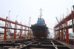 سرسره تعمیرات شناورهای دریایی بندر شهید رجایی