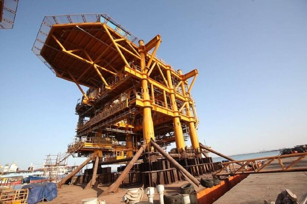 سکوی دریایی نفت و گاز هندیجان 07
