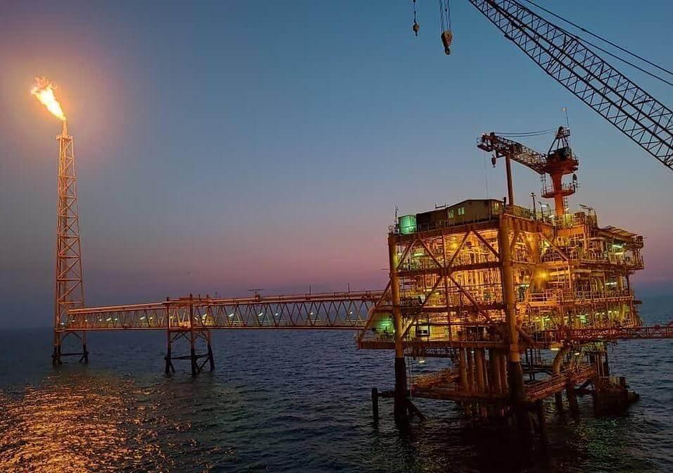 سکوی گازی دریایی هشتم پارس جنوبی SPD8